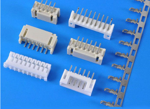 2.0mm Pitch 4 Contacts SMD Right Angle Header Connector Board To Board LCP Material